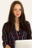 Młoda piękna turecka kobieta Zdjęcia Royalty Free