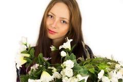 Młoda piękna turecka kobieta Obrazy Royalty Free