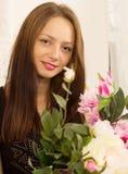 Młoda piękna turecka kobieta Zdjęcia Stock