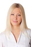 Młoda powabna blondynka fotografia royalty free