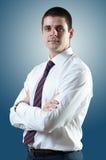 Biznesmen z krawatem zdjęcia stock