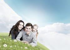 Młoda rodzina Fotografia Stock