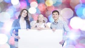 Młoda rodzina Obraz Royalty Free