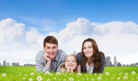 Młoda rodzina Obraz Stock