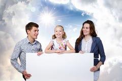 Młoda rodzina Zdjęcia Royalty Free