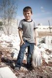 Młoda Syryjska chłopiec, Azaz, Syria. obraz royalty free