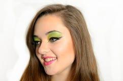 Młoda uśmiechnięta dziewczyna Obraz Royalty Free