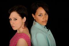 młode ładne kobiety fotografia stock