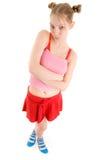 młode dziewczyn błękitny skarpety Zdjęcie Stock