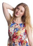 młode kobiety blond Obrazy Royalty Free