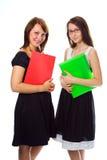 młode kobiety przedsiębiorstw Obrazy Royalty Free