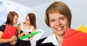młode kobiety przedsiębiorstw Fotografia Stock