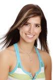młode kobiety uśmiech. zdjęcia stock