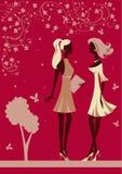 młode piękne kobiety ilustracja wektor