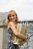 młode zakupy piękne kobiety fotografia stock