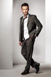 Młodego człowieka atrakcyjny model Zdjęcia Royalty Free