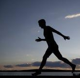 Młodego człowieka bieg Fotografia Royalty Free