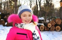 Młodej dziewczyny ono uśmiecha się Fotografia Royalty Free