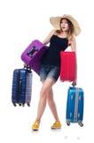 Młodej dziewczyny podróżowanie Zdjęcie Stock
