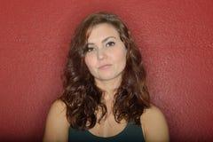 Młodej Kaukaskiej kobiety wyrażeniowe serie - zanudzać Zdjęcia Royalty Free