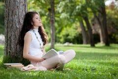 Młodej kobiety marzyć Obraz Stock
