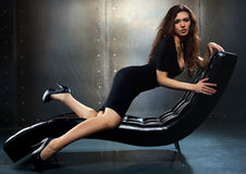 Młodej kobiety moda obraz royalty free