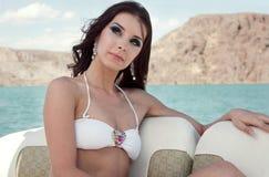 Młodej kobiety piękna portret Obraz Stock