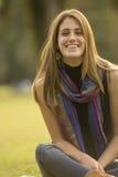 Młodej kobiety relaksować Fotografia Stock