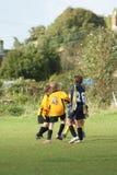 młodość futbolu fotografia stock