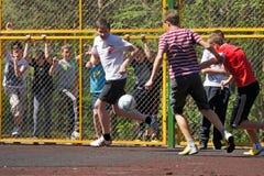 Młodość futbolu jard Obrazy Stock