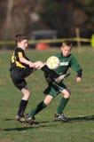 Młodość gracz piłki nożnej Zdjęcia Royalty Free