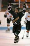 Młodość Lodowy hokej obraz royalty free