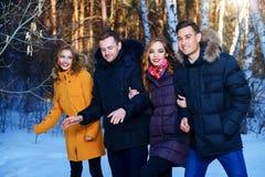 Młodość w puszek kurtkach obrazy royalty free
