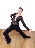 Młody ładny sala balowa tancerz fotografia stock