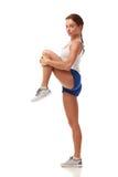 Młody ładny sprawność fizyczna model Obraz Stock