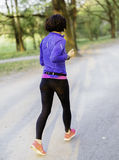 Młody żeński jogger Obrazy Stock