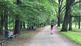 Młody żeński jogger zbiory