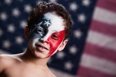 Młody Amerykański patriota Fotografia Stock