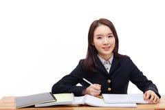 Młody Azjatycki uczeń Obraz Royalty Free
