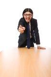 Młody biznesmena przysięganie Zdjęcie Stock