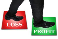 Biznesowego mężczyzna krok Obraz Stock