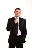 Młody biznesowego mężczyzna portret Fotografia Stock