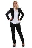 Młody biznesowej kobiety sekretarki szefa kierownika trwanie zajęcie Zdjęcia Stock