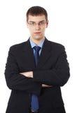 Młody biznesowy mężczyzna Zdjęcie Royalty Free