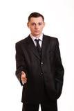 Młody biznesowy mężczyzna Zdjęcia Stock