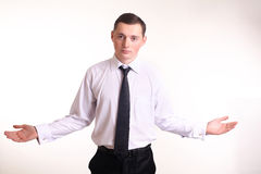 Młody biznesowy mężczyzna Obraz Royalty Free