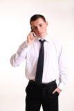 Młody biznesowy mężczyzna Obraz Stock