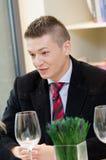 Młody biznesowy mężczyzna zdjęcie stock