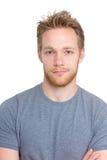 Młody blondynka mężczyzna Fotografia Stock