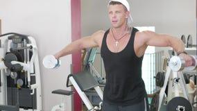 Młody bodybuilder zbiory